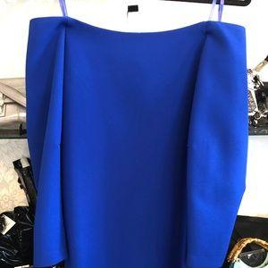 BCBG MAXAZRIA Blue Strapless Style#BYM64K86-4M5
